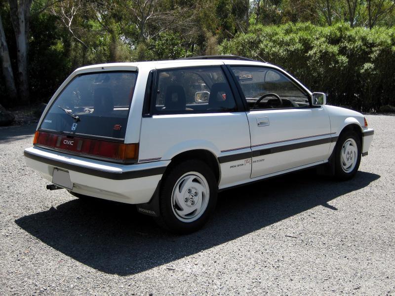 1986 Honda Civic Si F1 Special Edition (E AT)