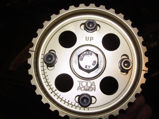 Wtb B Series Toda Cam Gears Ctr Or Itr 98 Spec Cams Engine